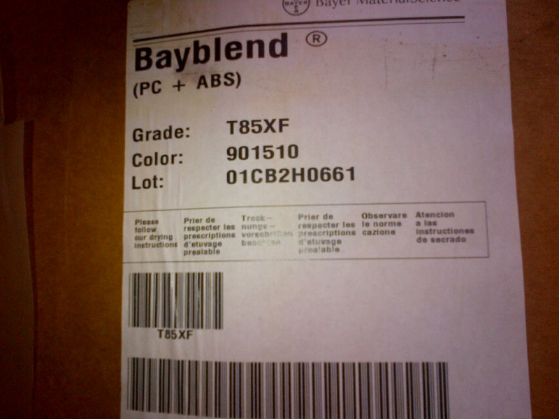 Bayblend PC + ABS T85XF