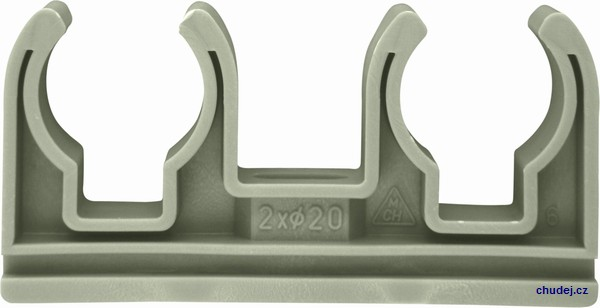 Double clamp D2x20 (20020P)