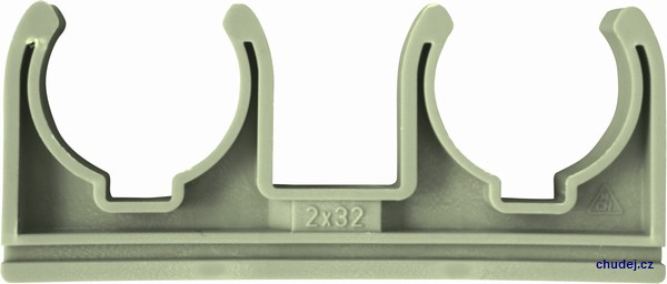 Double clamp D2x32 (20032P)