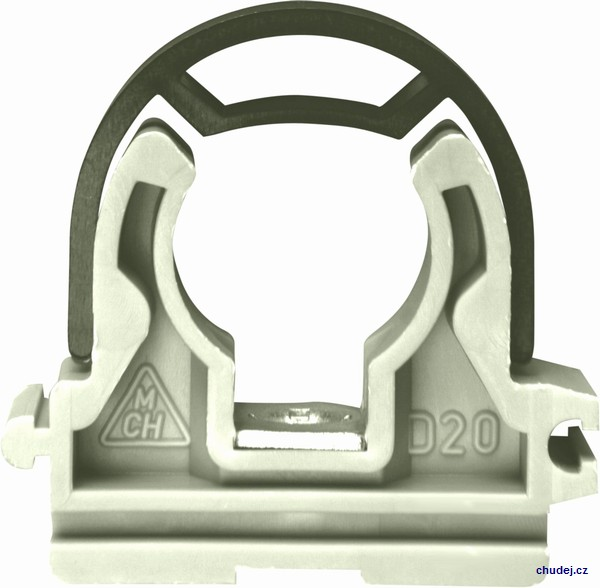 Yoke clamp D20 with nut M6 (Z1T020P)