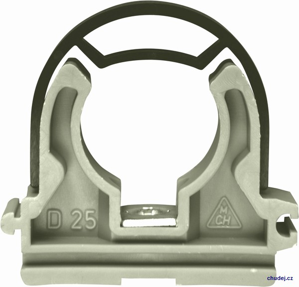 Yoke clamp D25 with nut M6 (Z1T025P)