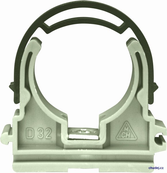 Yoke clamp D32 with nut M6 (Z1T032P)