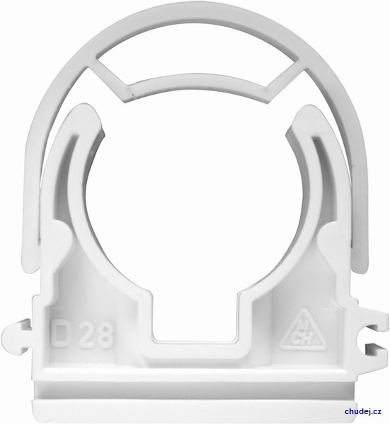 Yoke clamp D28 with nut M6 (Z1T028Cu)